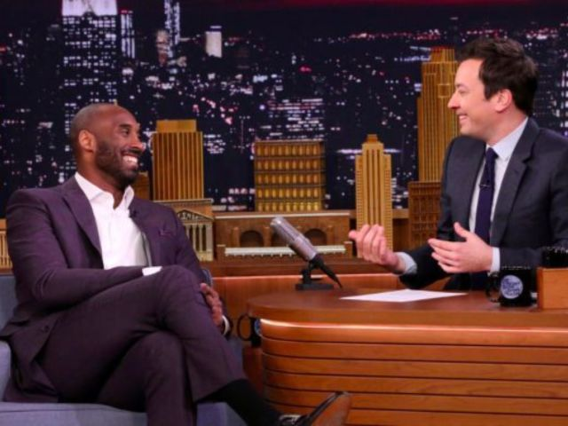 Jimmy Fallon Recalls Going on Beer Run With Teenage Kobe Bryant During Tearful 'Tonight Show' Monologue
