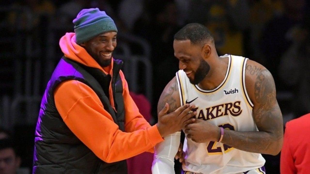 41歲的Kobe英年早逝,詹姆斯掩面而泣,「23 vs 24」正式成為NBA最遺憾的偽命題!