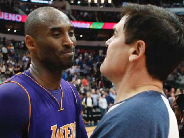 'The View': Mark Cuban Reveals Recently Discovered Texting Conversation With Kobe Bryant on Old Phone