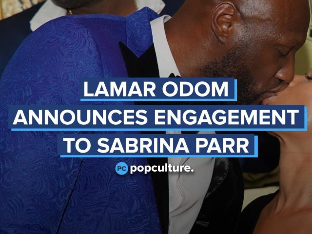 Lamar Odom Announces Engagement to Sabrina Parr