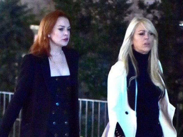 Lindsay Lohan's Mother Dina Reportedly Charged With DWI, Fell on Face During Arrest