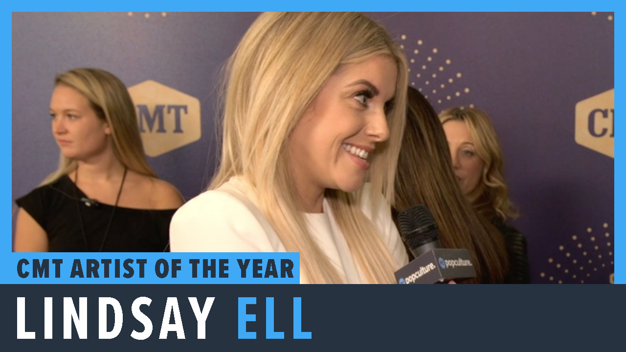 Lindsay Ell - 2019 CMT Artist of the Year Awards Exclusive Interview screen capture