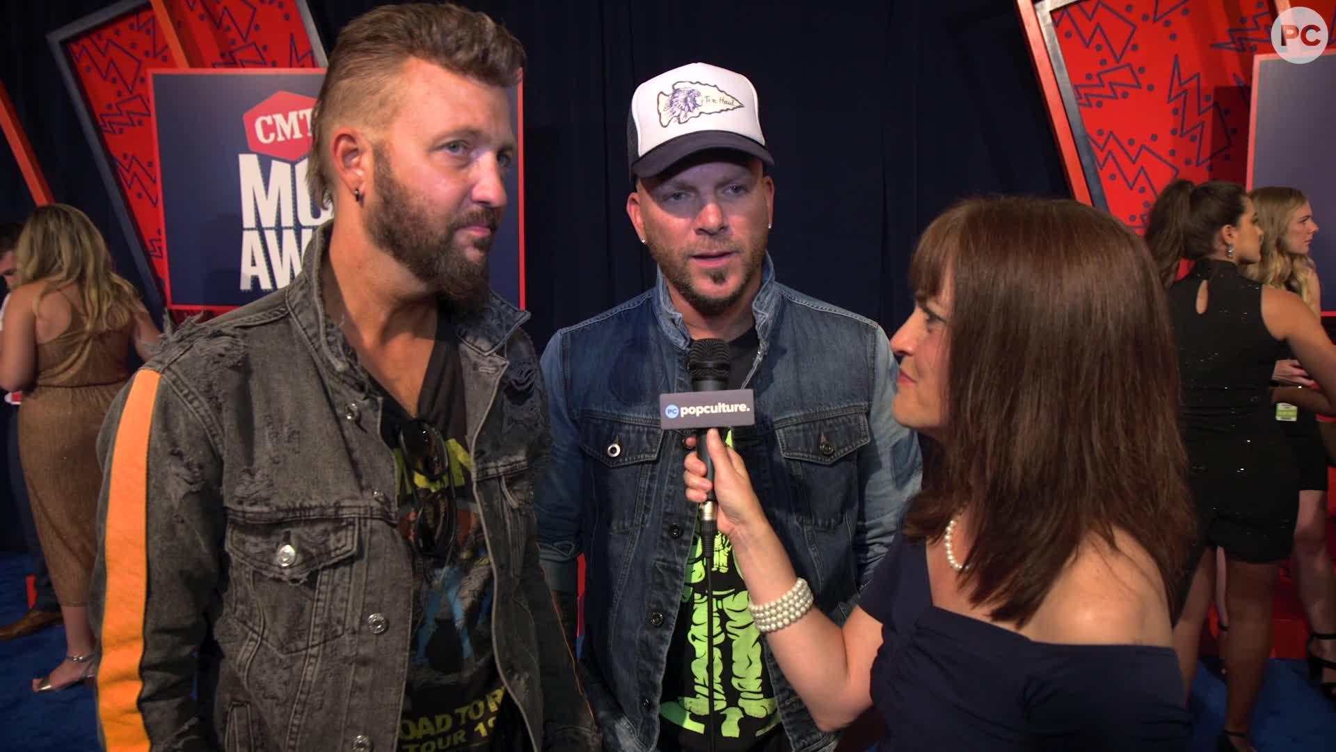 LOCASH - 2019 CMT Awards Red Carpet Exclusive screen capture