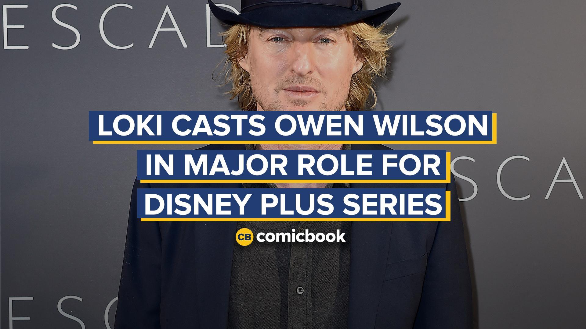 Loki Casts Owen Wilson in Major Role For Disney Plus Series screen capture