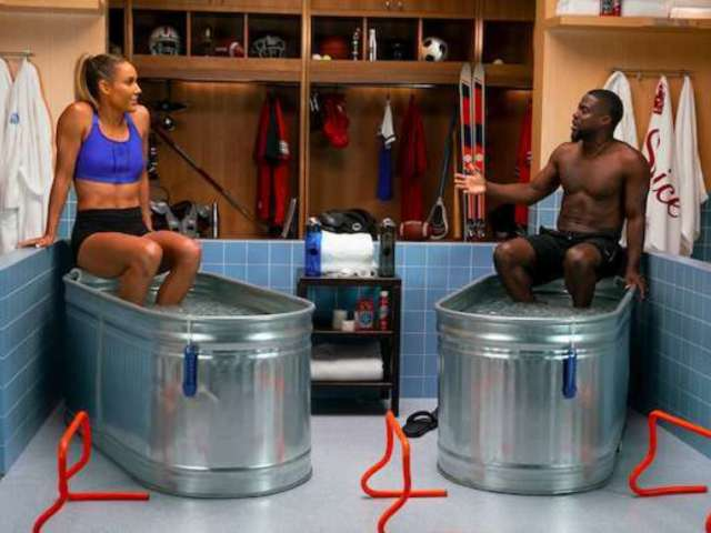 Olympian Lolo Jones Dishes on Olympics, 'DWTS' During Kevin Hart's Interview Show 'Cold As Balls'