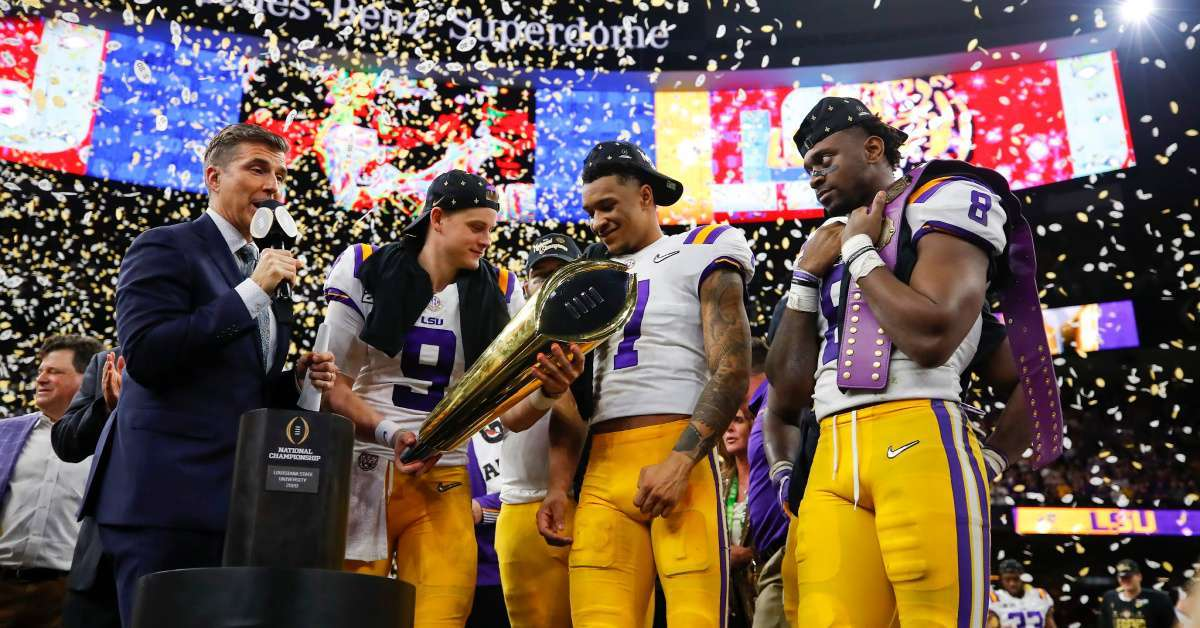 LSU players threatened arrest smoking locker room championship win