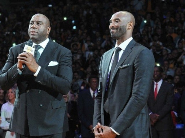 Magic Johnson in Awe After Lakers' Kobe Bryant Tribute, Says It 'Brought Everyone to Tears'