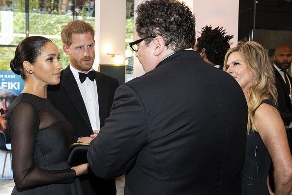 Markle and Harry - Lion King
