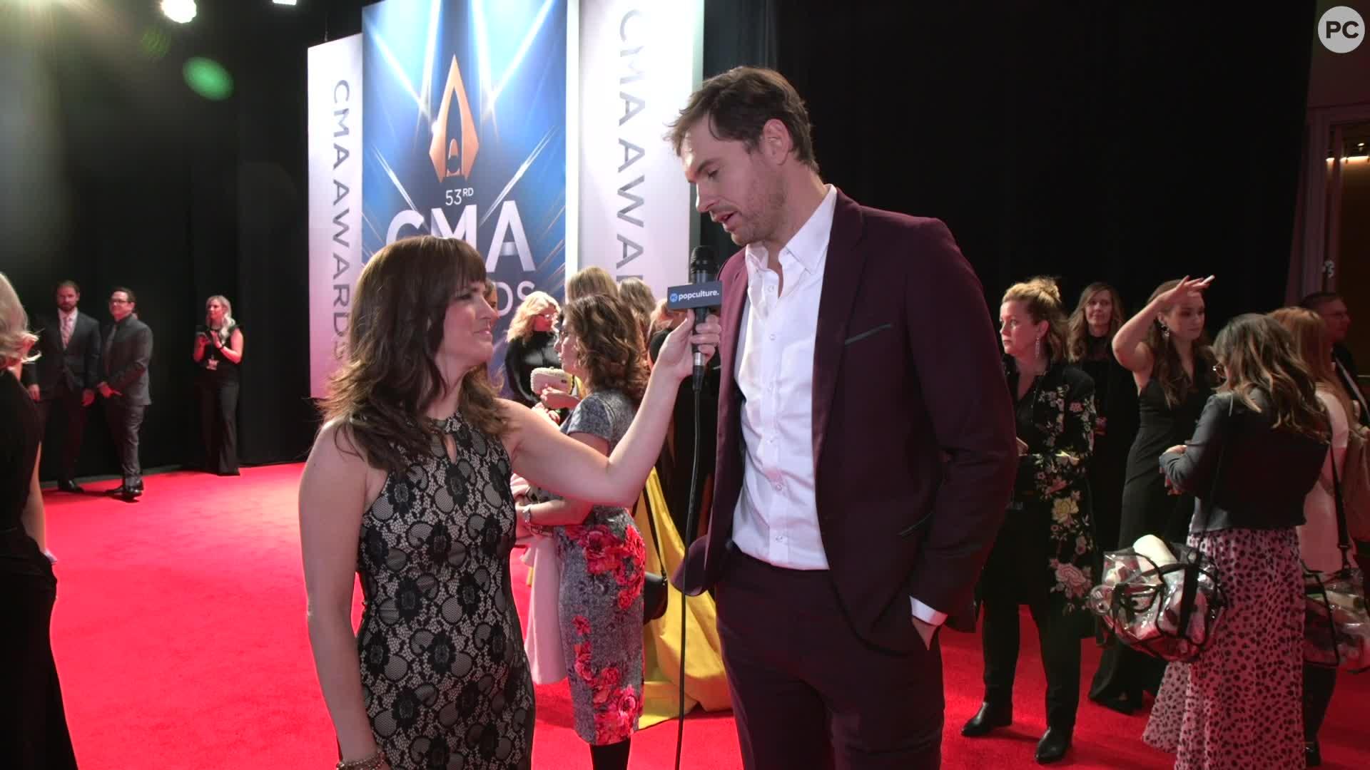 Matt Stell - 2019 CMA Awards screen capture