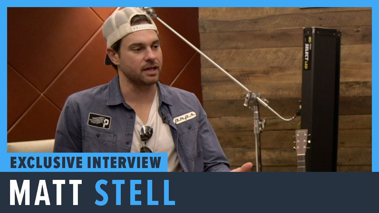 Matt Stell Talks New Music and Tour - PopCulture.com Exclusive Interview screen capture