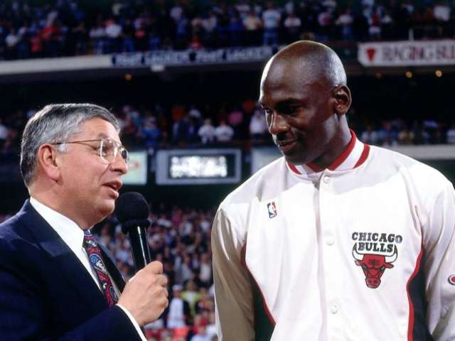 Michael Jordan, LeBron James and Other NBA Legends Pay Tribute to David Stern