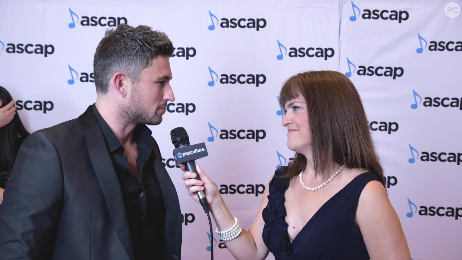 Michael Ray - 2019 ASCAP Awards Ceremony screen capture