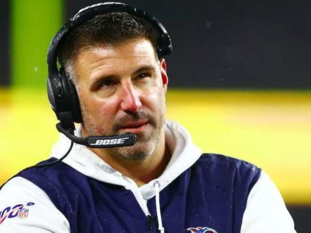 David Spade Thinks Titans Coach Mike Vrabel Looks Just Like Ryan Reynolds, and We Can't Unsee It