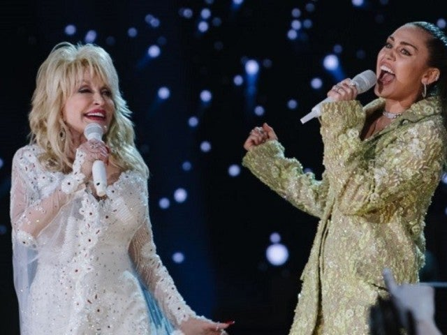 Miley Cyrus Honors Godmother Dolly Parton's 74th Birthday With Hilarious Impersonation