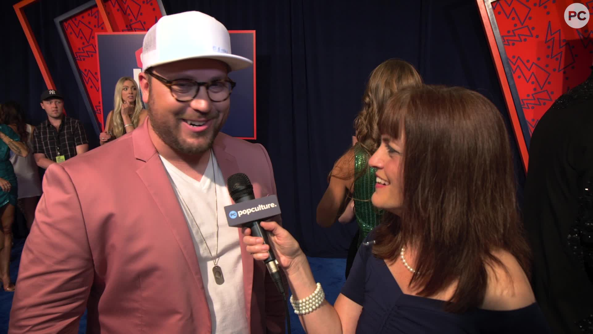 Mitchell Tenpenny - 2019 CMT Awards Red Carpet Exclusive screen capture