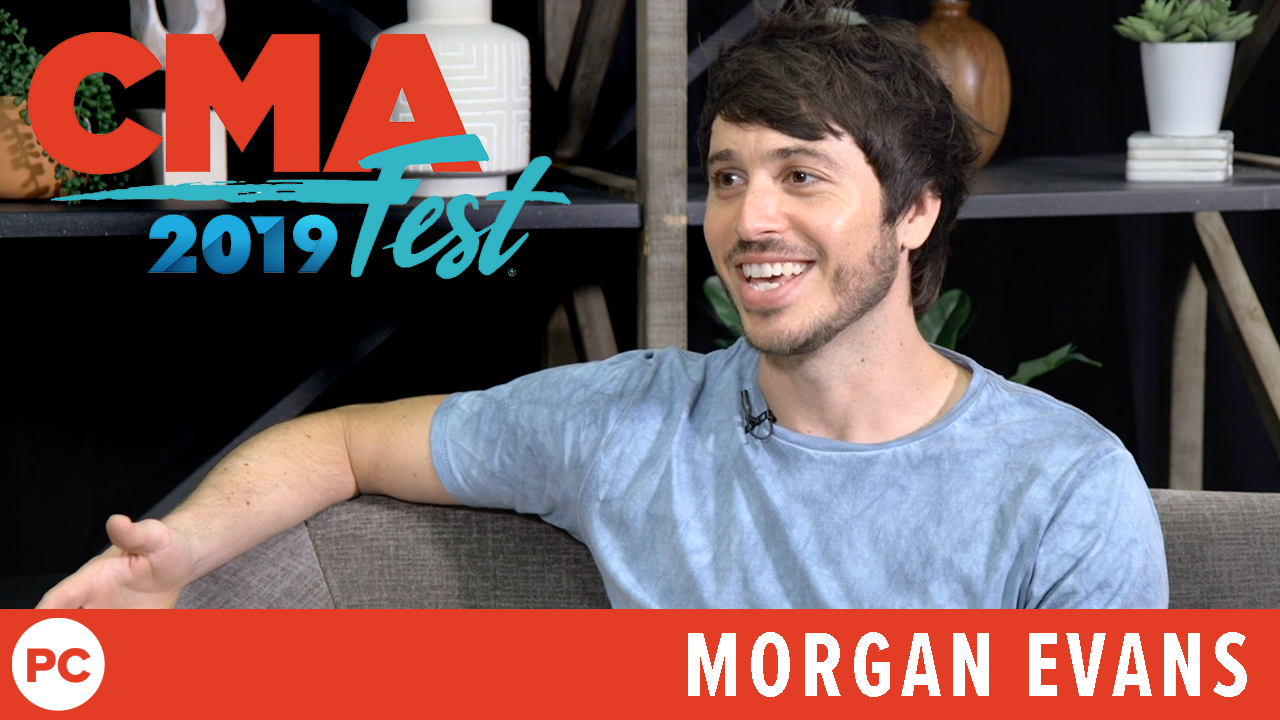Morgan Evans - CMA Fest 2019 Exclusive Interview screen capture
