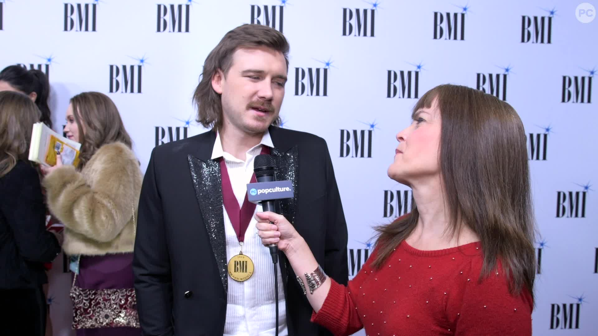 Morgan Wallen and HARDY - 2019 BMI Awards screen capture