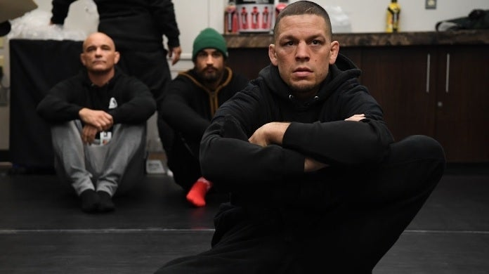 nate diaz getty images