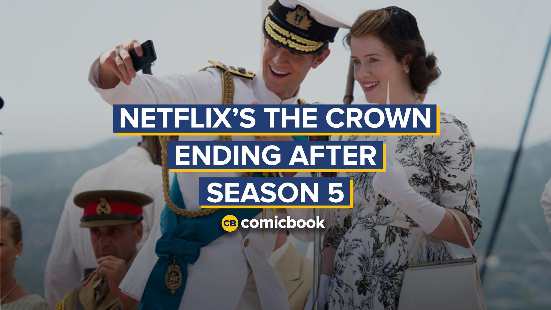 Netflix's The Crown Ending After Season 5 screen capture
