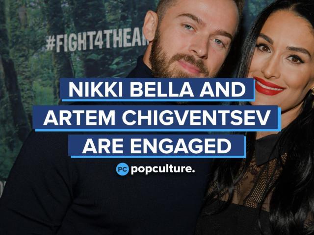 Nikki Bella and Artem Chigventsev Announce Engagement