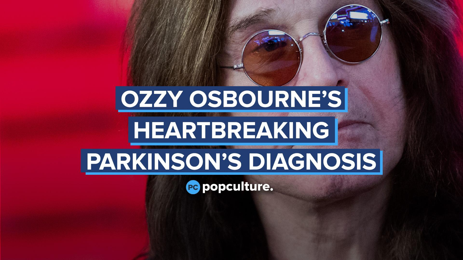 Ozzy Osbourne's Heartbreaking Parkinson's Diagnosis screen capture