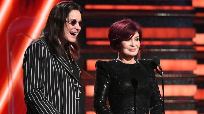 ozzy osbourne sharon getty images grammys
