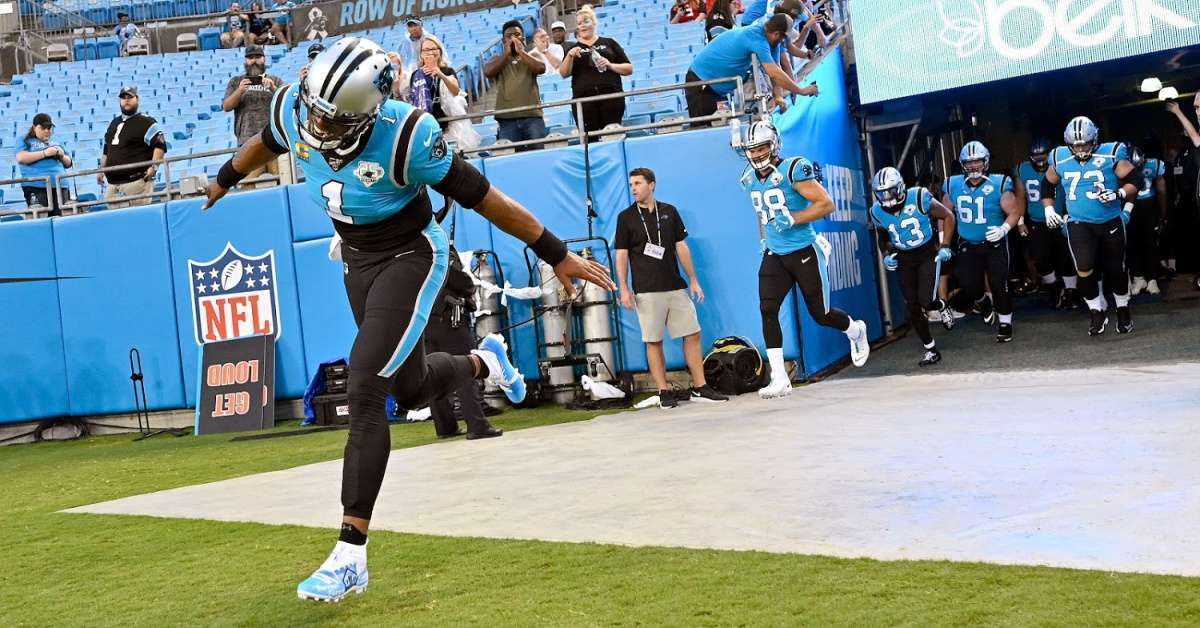 Panthers players respond Cam Newton leaving health