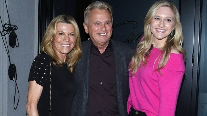 pat sajak maggie vanna white getty images