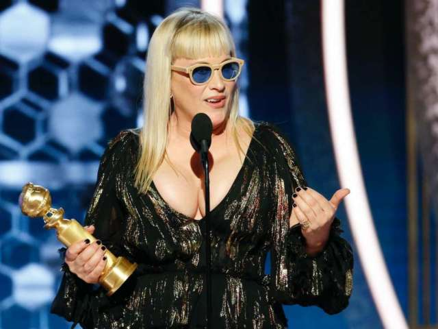 Golden Globes 2020: Patricia Arquette Slams Donald Trump in Best Supporting Actress Acceptance Speech