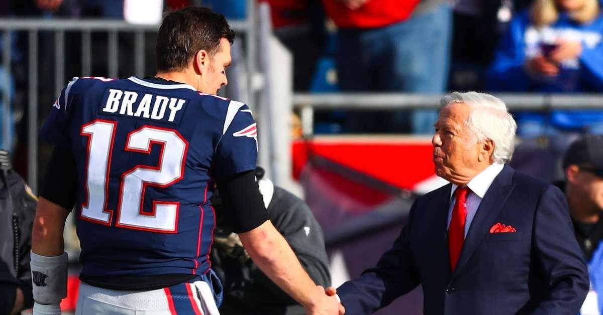 Patriots Owner Robert Kraft plans to keep Tom Brady 2020