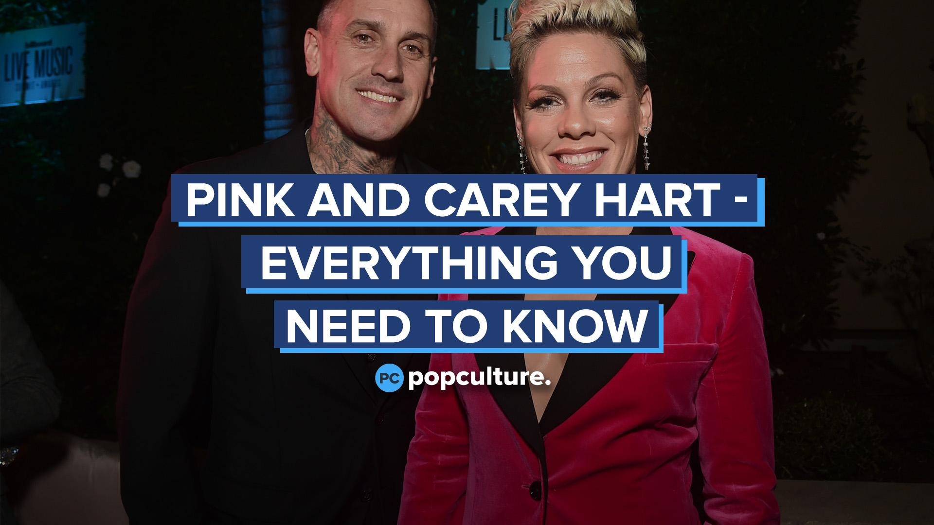 Pink and Carey Hart - Everything You Need to Know screen capture