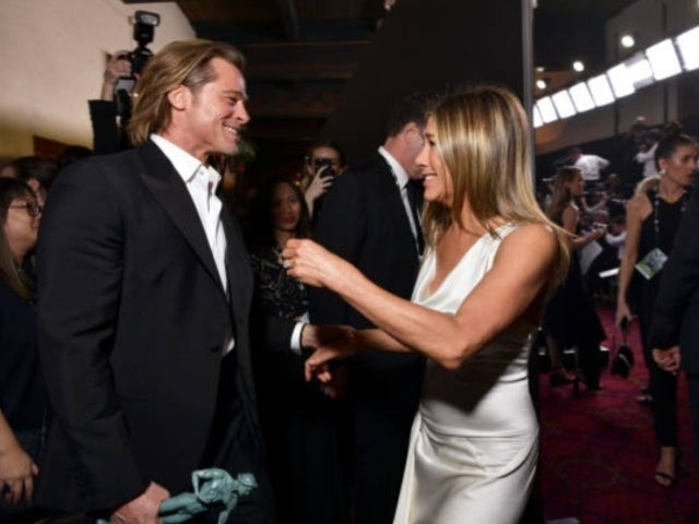 SAG Awards 2020: Every Photo From Brad Pitt and Jennifer Aniston's Backstage Reunion