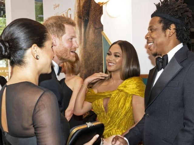 Beyonce's Unearthed Reaction Called 'Awkward' as Prince Harry and Meghan Markle Pitch Voiceover Work to 'Lion King' Director Jon Favreau