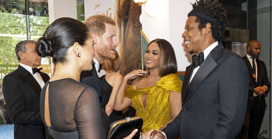 Prince Harry Meghan Markle Beyonce Jay-Z
