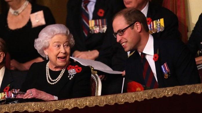 Queen Elizabeth and William-2