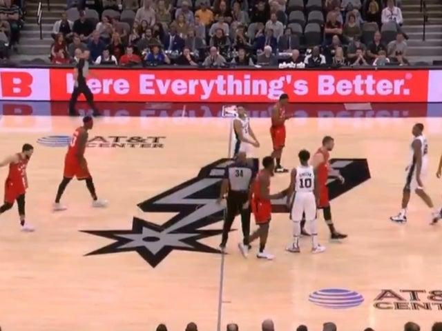 Kobe Bryant Dead: Raptors vs. Spurs Game Run the Clock in Honor of Lakers Star's Passing