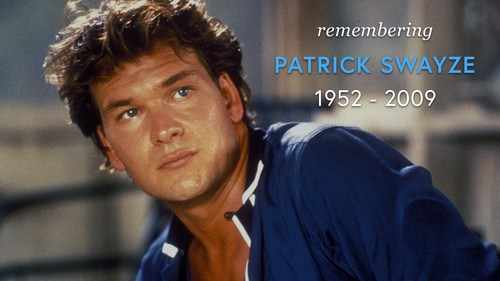 Remembering Patrick Swayze (1952 - 2009) screen capture