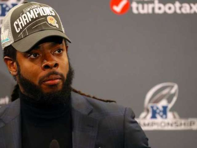 Richard Sherman Doubts He Would Visit White House If 49ers Win Super Bowl
