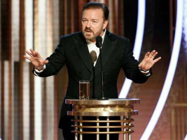 Ricky Gervais Fires Back at Golden Globes Critics, Makes Vow