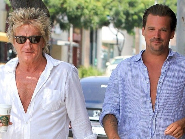 Rod Stewart and Son Sean Charged With Criminal Battery After New Year's Eve Fight