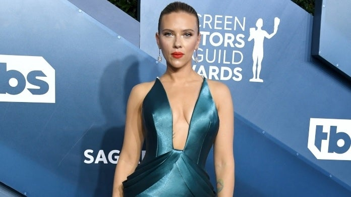 scarlett johansson sag awards getty images