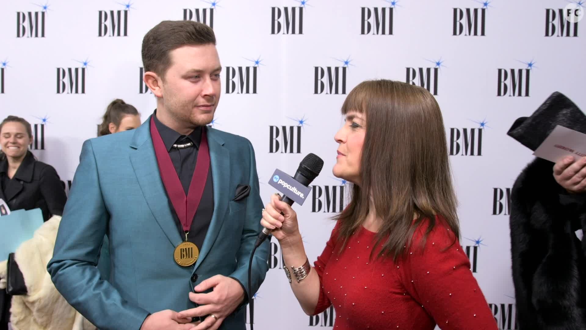 Scotty McCreery - 2019 BMI Award screen capture