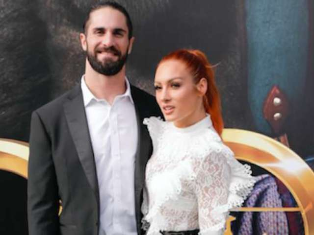 WWE's Becky Lynch and Seth Rollins Step out Together for 'Dolittle' Premiere, Link up With John Cena and His Girlfriend Shay Shariatzadeh