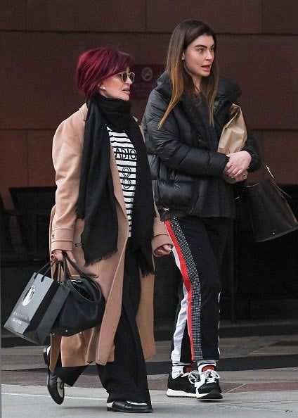 Sharon Osbourne Spotted With Daughter Aimee in Rare Public ...