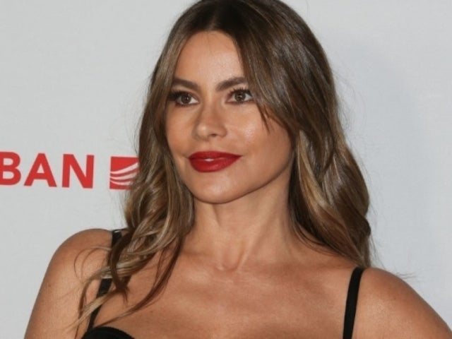 Golden Globes 2020: Sofia Vergara Chills in Towel for Facial Ahead of Awards