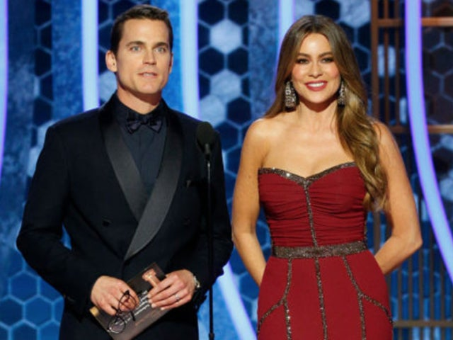 Golden Globes 2020: Sofia Vergara and Matt Bomer Have Teleprompter Blunder, Fans Bring the Perfect Reactions