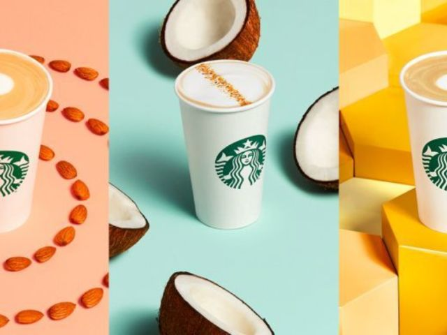 Starbucks Introduces 3 Non-Dairy Options to Locations Across the US