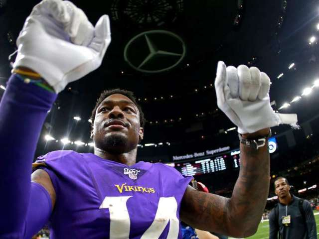 Vikings WR Stefon Diggs Trolls Saints Head Coach Sean Payton in His Face After Playoff Game