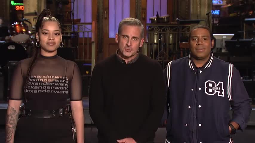Steve Carell Tests Out His Stand-Up - SNL screen capture