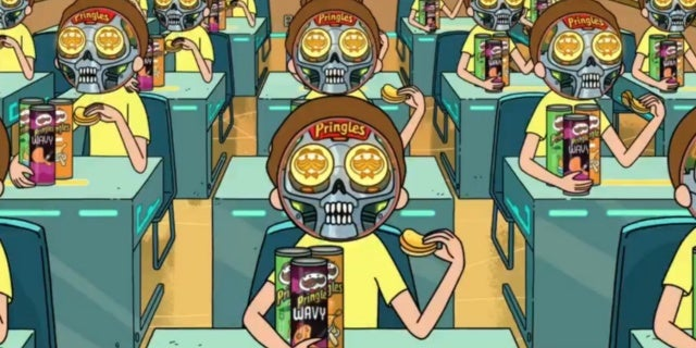 super-bowl-2020-pringles-rick-morty